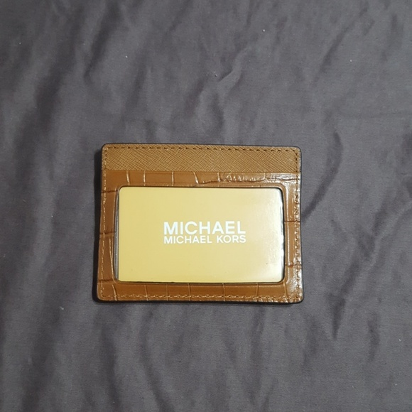 780908555435 MK walnut card holder and ID REDUCED